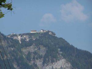 Blick vom Traunsee auf den Feuerkogel (1592 m)